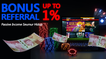 Bonus Referral Up To 1%
